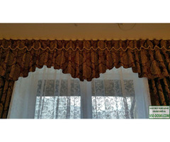 Изготовление эксклюзивных штор и текстильных элементов интерьера