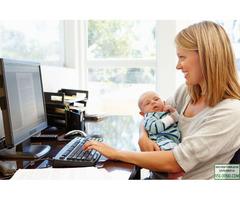 Интернет – подработка для мам в декрете